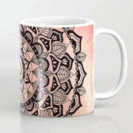Desert Rose Mandala Coffee Mug