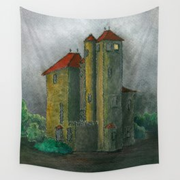 Camprubi house Wall Tapestry