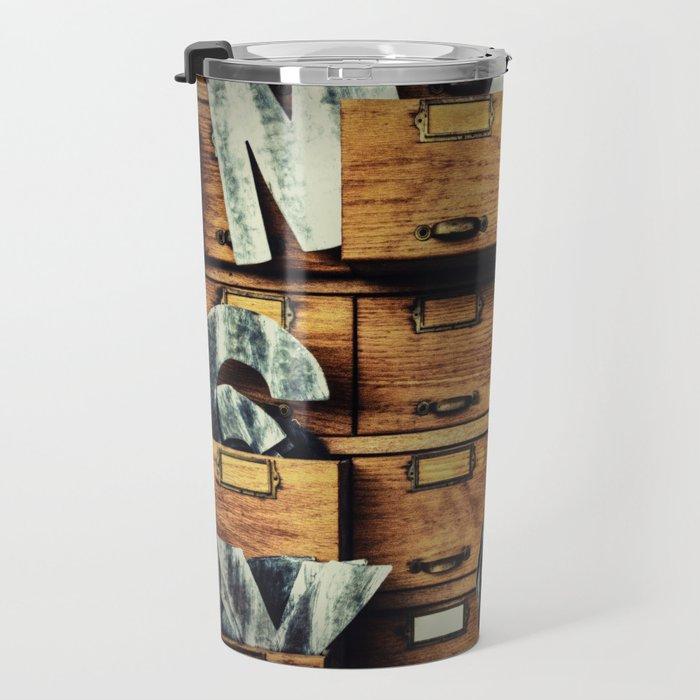 Filing System Travel Mug