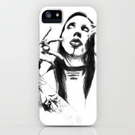 Pancil Manson iPhone Case