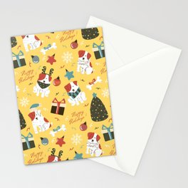 Christmas Dog Stationery Cards