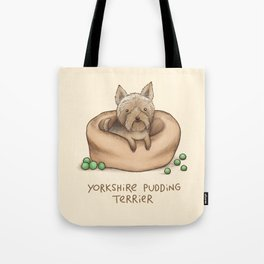 Yorkshire Pudding Terrier Tote Bag