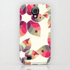 Autumn Flowers Pattern Slim Case Galaxy S4