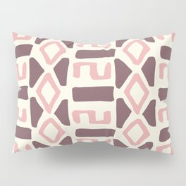 Pink Fall Tribal #society6 #tribal Pillow Sham
