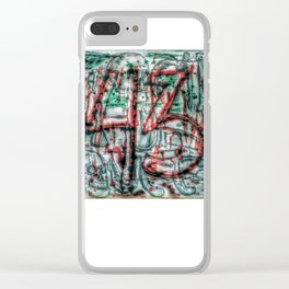 Al Grito De Guerra Clear iPhone Case