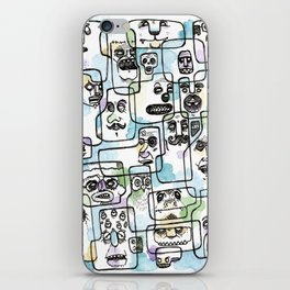 Heads of the Class iPhone Skin