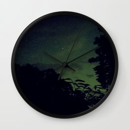 Lo-Fi Sunset Wall Clock