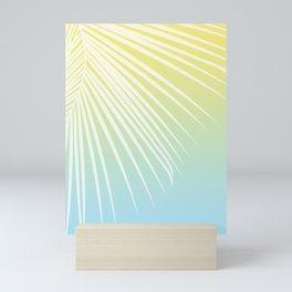 Pastel Palm 03 Mini Art Print