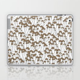 Beech Mushrooms Laptop & iPad Skin