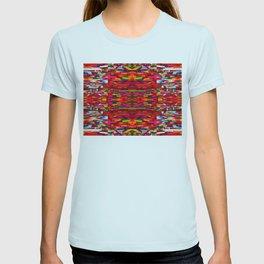 Colorful Blanket Textile T-shirt