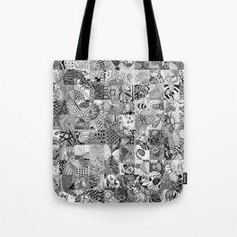 Doodling Together #3 Tote Bag