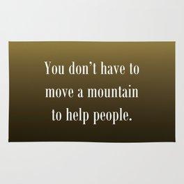Move a Mountain Rug