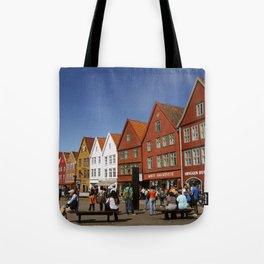 Bergen Bryggen Tote Bag