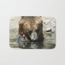 Bearly Bored Bath Mat
