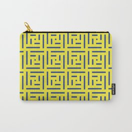 Human History (Lemon and Blue) Carry-All Pouch