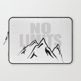 Jeep climb - No limits (Red) Laptop Sleeve