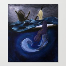 The Siren's Song Canvas Print