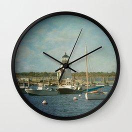 Welcome to Nantucket Wall Clock