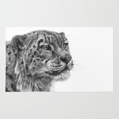 Snow Leopard G095 Rug