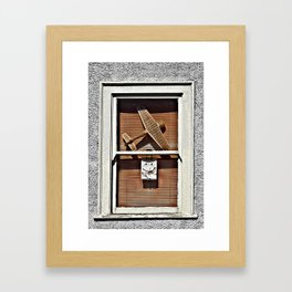 Friendly Skies  Framed Art Print