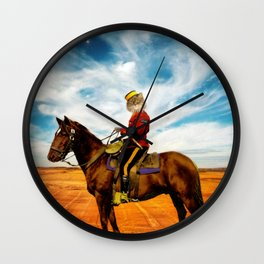 Sergeant Major Bannock Wall Clock