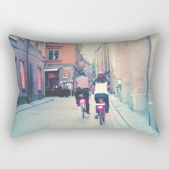 Pastel vibes 18 Rectangular Pillow