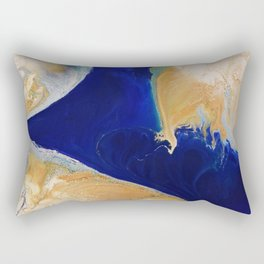 The 3 Rectangular Pillow