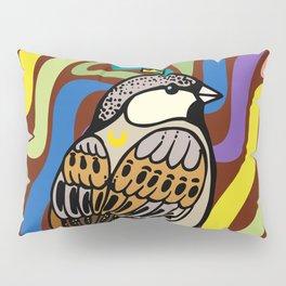 Sparrow Bird Pillow Sham