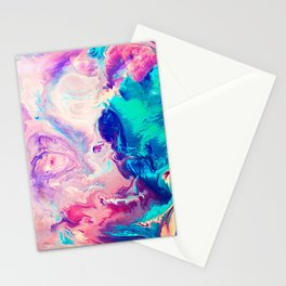 Ice Paint Stationery Cards