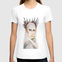 thranduil T-shirts featuring Thranduil by Olivia Nicholls-Bates