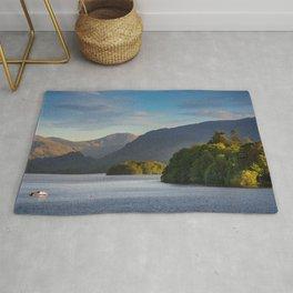 Lake Derwentwater in the Lake District, England Rug
