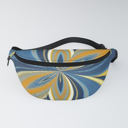 AroAce Pride Pinched Petal Ripples Fanny Pack