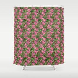 Canna Diamond Shower Curtain