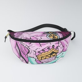 Pink Elephant Drawing Animal Drawing Fanny Pack