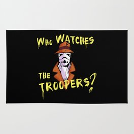 Who Watches The Troopers? Rug