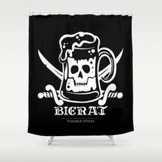 Bierat Shower Curtain