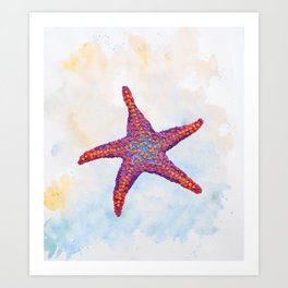 Hoopless: Washed Up Star Art Print