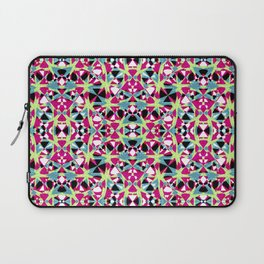 Multicolored Abstract Geometric Pattern Laptop Sleeve