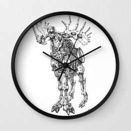 Motor Moose Wall Clock