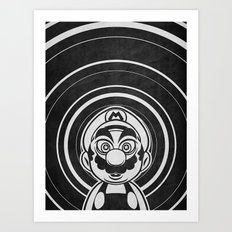 Super Trippin Bros. Mario is All Stars. Art Print