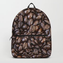 Roasted Dark Colombian Coffee Beans Backpack