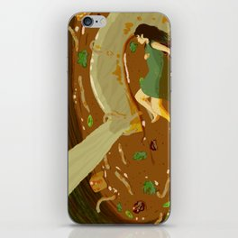 Hot and Sour Soup iPhone Skin