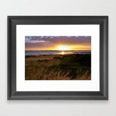 Coorong 1 Framed Art Print