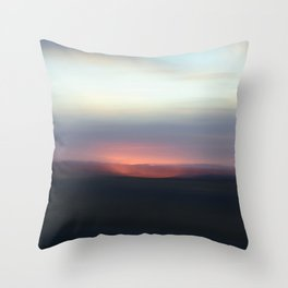 Utah Skies Throw Pillow
