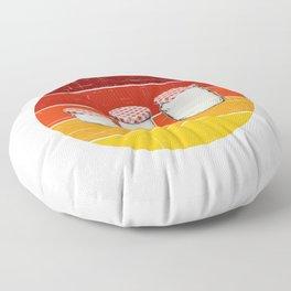 jar hoarder for people who like jars  Floor Pillow