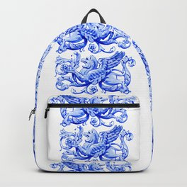 ultramarine griffin in watercolor Backpack