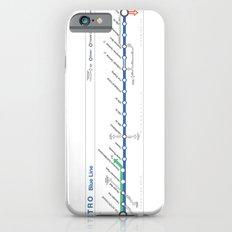 Twin Cities METRO Blue Line Map Slim Case iPhone 6s