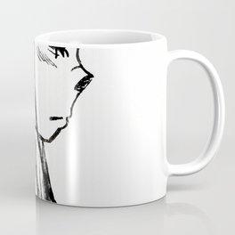 Girl With A Hoodie Coffee Mug
