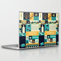 divergent Laptop & iPad Skins featuring Divergent items by Isabelle Silva