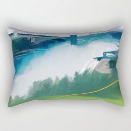 On The Other Side Of Niagara Falls Rectangular Pillow